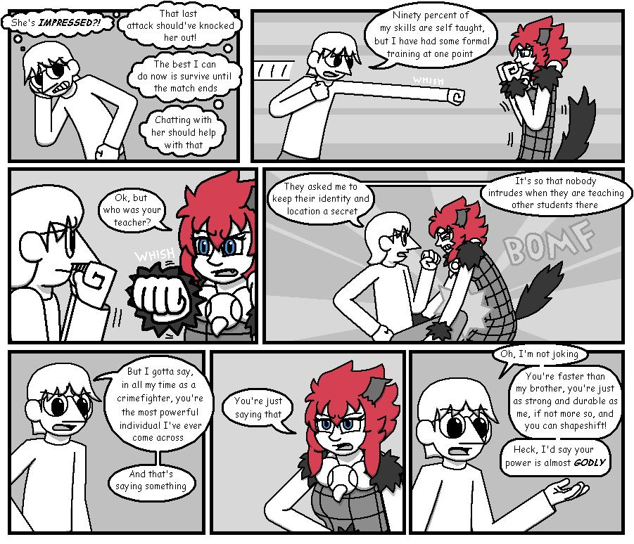 Character Battles II: Zachary Vs Morrigan page 18
