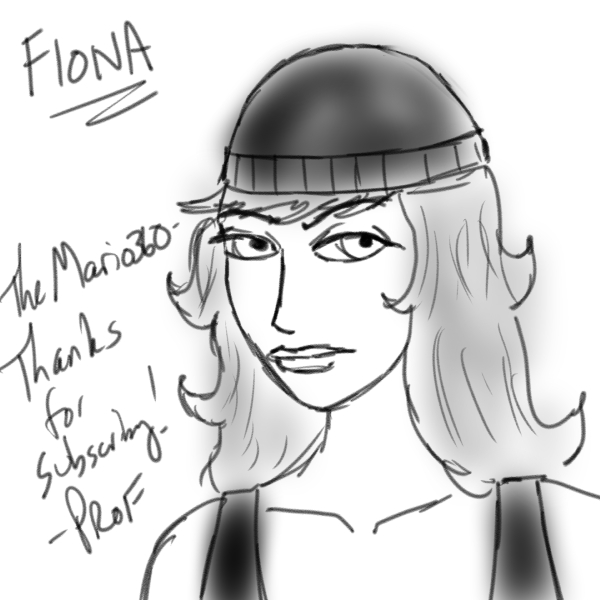 Fiona drawing by ProfessorEtheric
