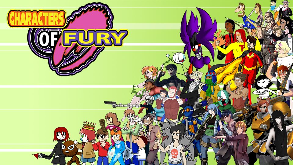 Characters of Fury poster