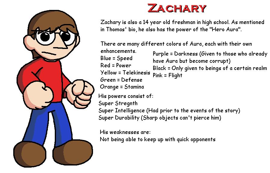 T&Z Character Bios: Zachary