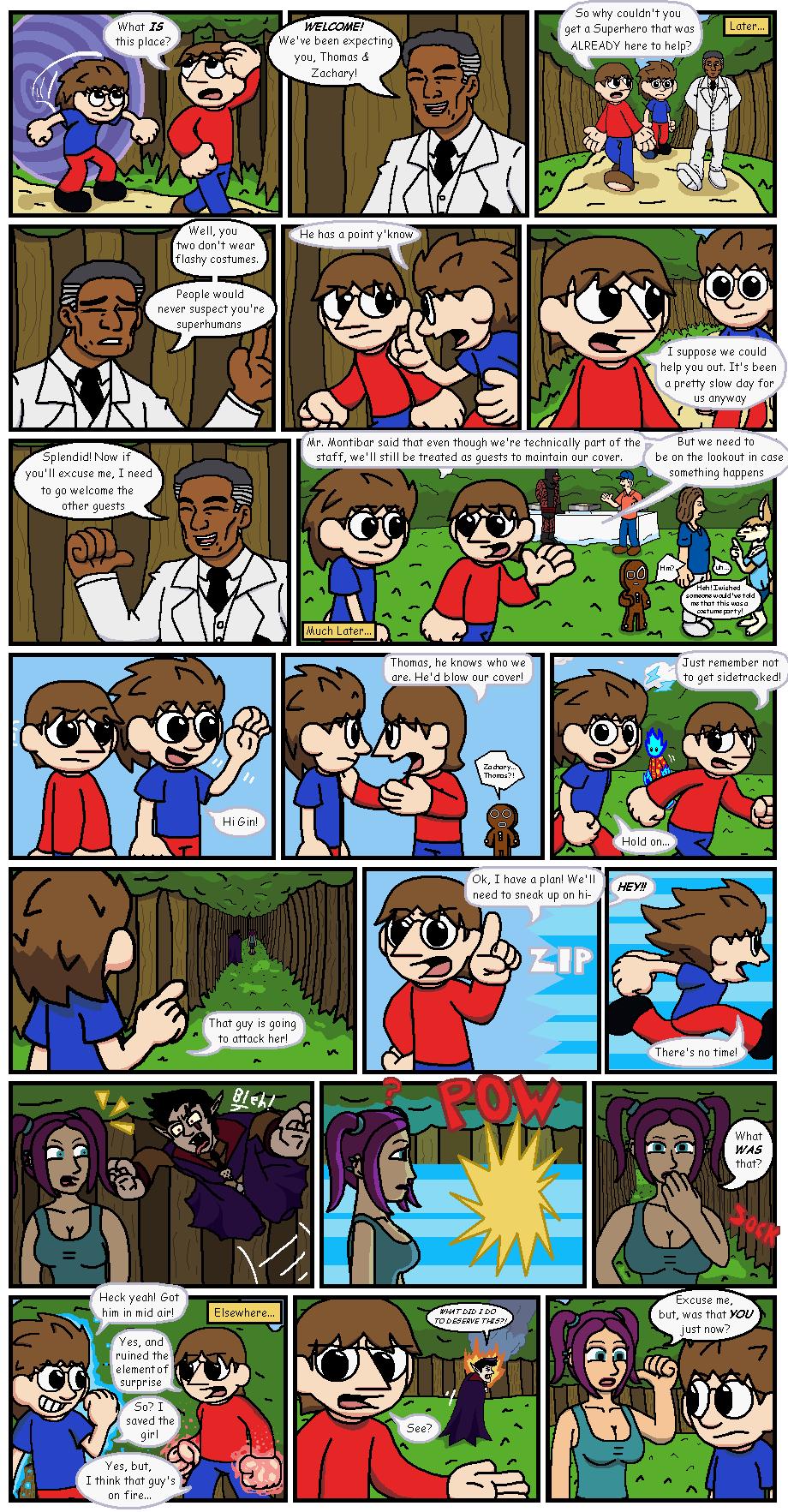 The Halloween Caper (2014) part 2