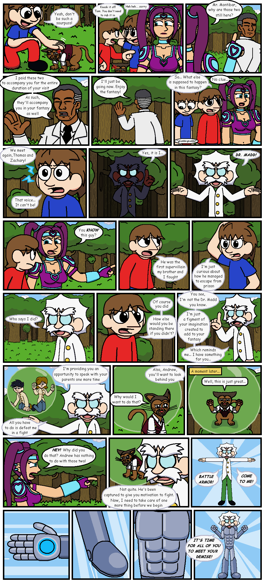 The Halloween Caper (2014) part 9