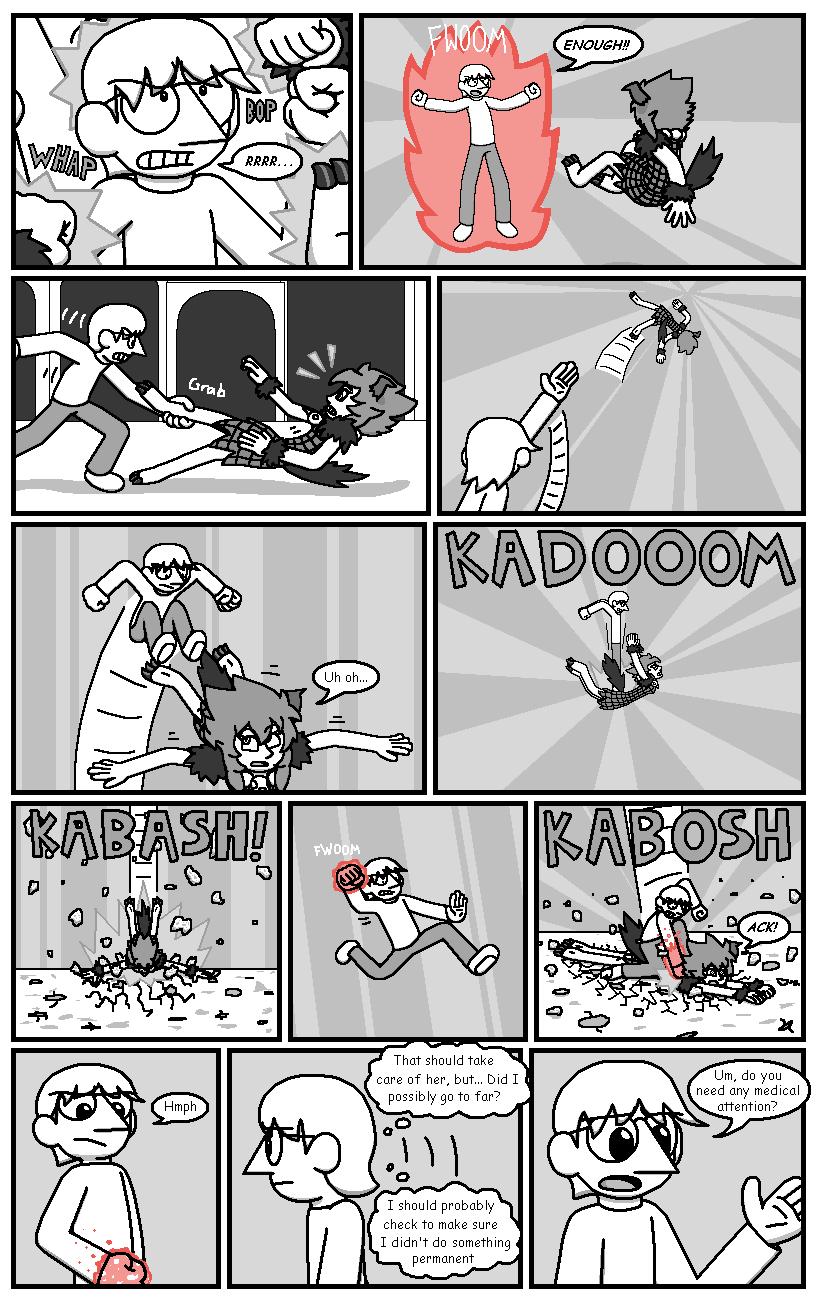 Character Battles II: Zachary Vs Morrigan page 4