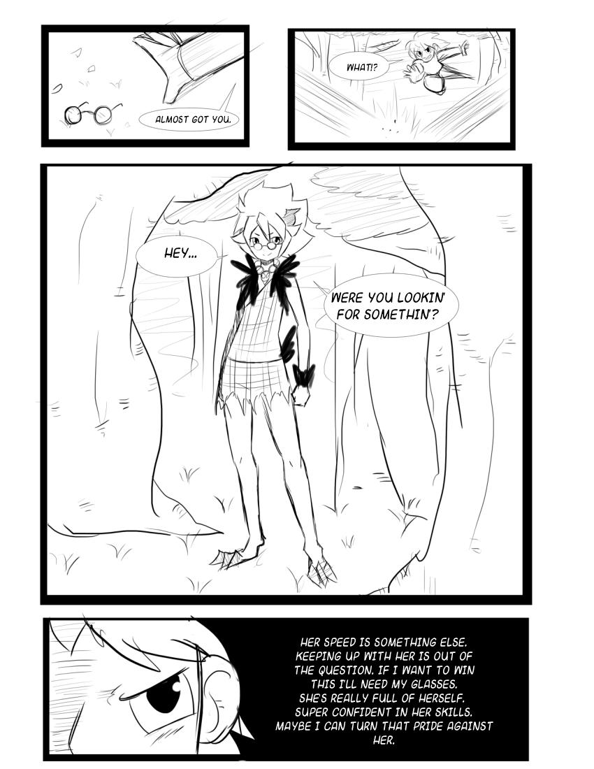 Character Battles II: Zachary Vs Morrigan page 13